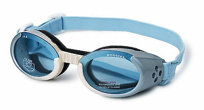 SUNGLASSES FOR DOGS by Doggles - BLUE - EXTRA LARGE