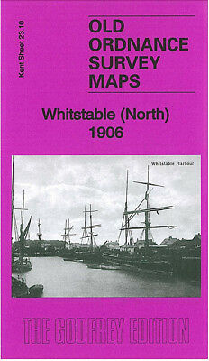 Old Ordnance Survey Map Whitstable North 1906 Kingsdown Park Tankerton