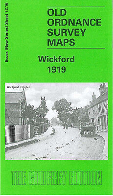 Old Ordnance Survey Map Wickford 1919