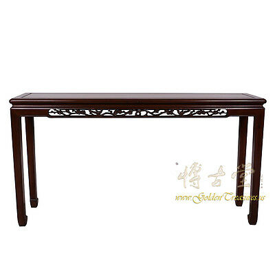 Vintage Chinese Rosewood Entry Console/Sofa Table 17LP34