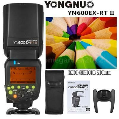 YONGNUO YN600EX-RT II TTL HSS GN60 Master Flash Speedlite for Canon EX RT II