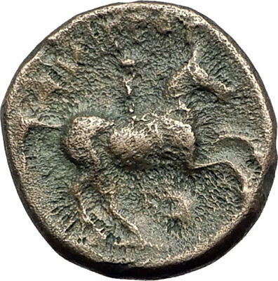 Philip II 359BC Olympic Games HORSE Race WIN Macedonia Ancient Greek Coin i64944