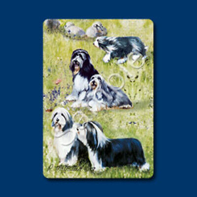 Playing cards: Bearded Collie Dog, Designed by Ruth Maystead (BEC-PC)