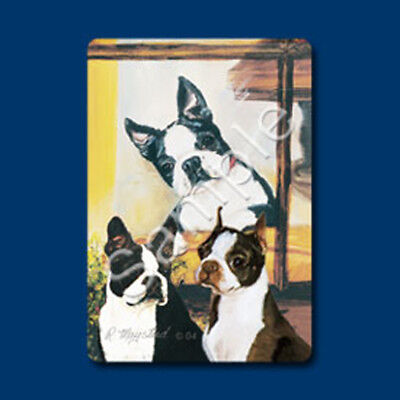 Playing cards: Boston Terrier Dog, Designed by Ruth Maystead (BOT-PC)