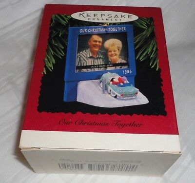 Hallmark Keepsake Ornament ~ Our Christmas Together ~ Photo Holder ~ 1996 *new