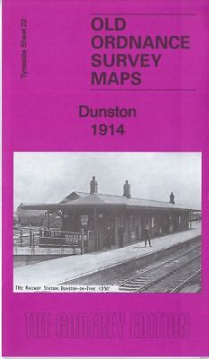 Old Ordnance Survey Map Dunston 1914 Spoor Street Norwood Colliery Whickham