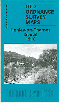 Old Ordnance Survey Map Henley On Thames South 1910 Reading Road Harpsden