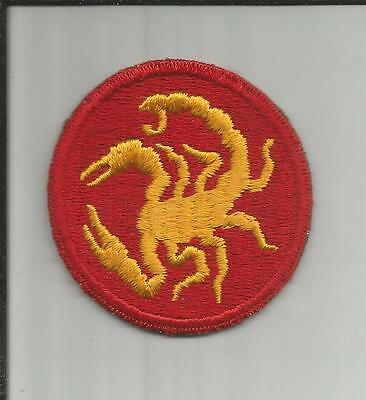WW 2 US Army 22nd Infantry Division Patch Inv# A143