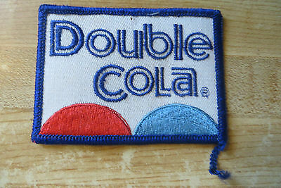 Original soda pop advertising Double Cola large company collectible patch