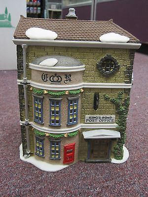 "Dept 56 Heritage Collection Dickens Village ""king's Road Post Office"""