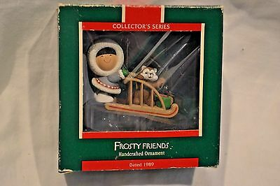 Hallmark Frosty and Friends Christmas Ornament 1989 Series