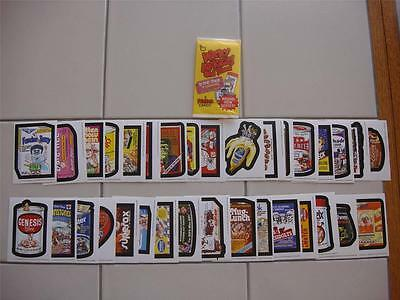 2014 Wacky Packages New Os 5 Old School Series 5 Set 33 Tan Backed Cards