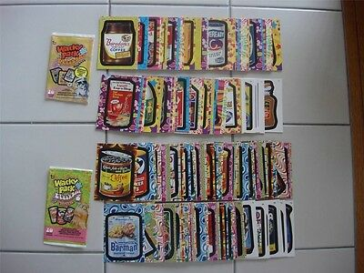 Wacky Packages Flashback Series 1 & 2 ~ 144 cards ~ WOW BOTH SETS FREE SHIPPING
