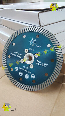 5 inch 125mm THK M14 thread flanged Diamond blade disc cutting grinding granite