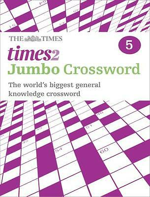 Times 2 Jumbo Crossword Book 5 (Paperback), The Times Mind Games,. 9780007368525