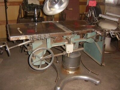 Vintage Operating Table with Light