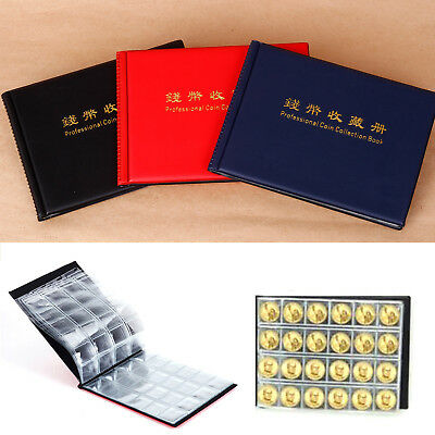 240 Collecting Coin Penny Money Pocket Storage Album Book Holder Case Collection
