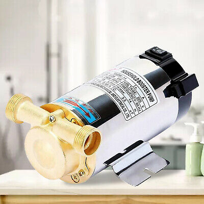 90W Water Pressure Booster Pump Shower Home Automatic Stainless Steel
