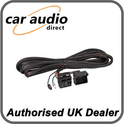 Connects2 CT20BM06 BMW 6.5m Quadlock Wiring Harness Adapter+ Din Aerial Adapter