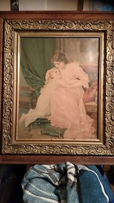 "HELP!! U. S. PAINTING ""CONFIDENCES"" TELL ME PLEASE!! Copyright 1894 (XX100)"