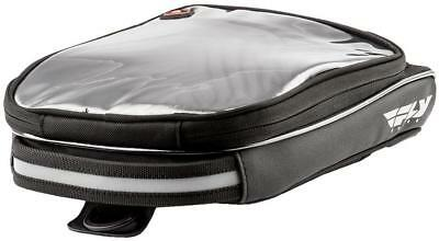 Fly Mini Tank Bag Magnetic and Strap On Mount Black 2.5 Liter Capacity