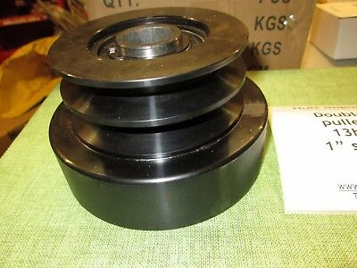 """25.4mm bore 1""""  centrifugal clutch  bouble V belt pulley  up to 16hp  Heavy duty"""