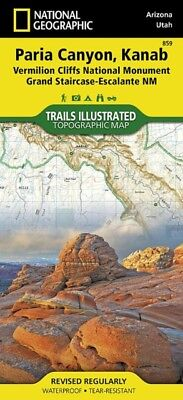 Vermillion Cliffs, Paria Canyon (National Geographic Trails Illustrated Map) (M.