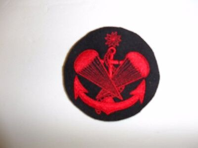 a0148  WW 2 Japan Japanese Naval Paratrooper Airborne Sleeve Patch R17C