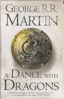 A Dance With Dragons - George R R Martin - First Edition First Printing - Acc...