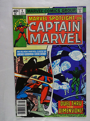 Marvel Spotlight #4   High Grade  NM-    Pat Broderick   Captain Marvel