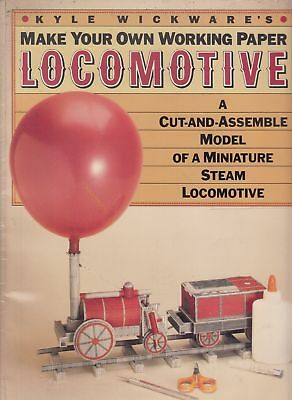 Make your own working paper locomotive - Kyle WICKWARE - Acceptable - Paperback
