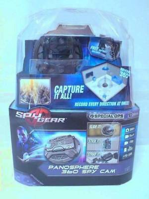 New SPY GEAR Special Ops PANOSPHERE 360 SPY CAM 720p 2GB Included USB
