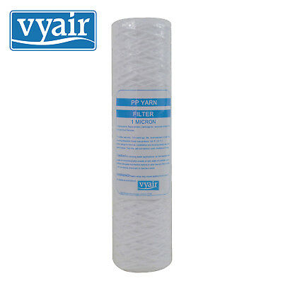 "VYAIR 10"" String Wound PP Yarn Particle Sediment Reverse Osmosis Water Filters"