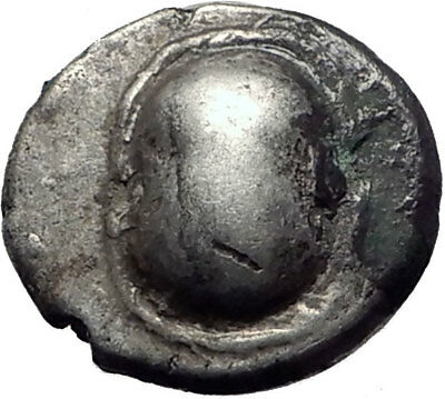 Boiotian League Ostensibly Thebes in Boeotia Ancient Silver Greek Coin i65318