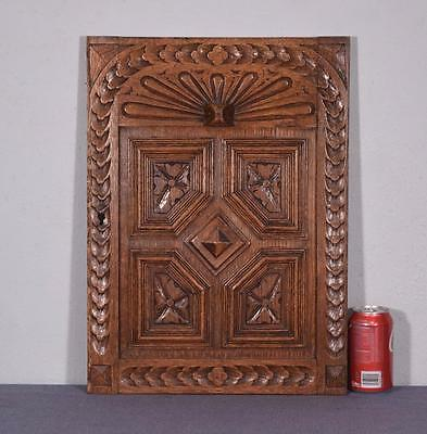 French Renaissance Revival Antique Oak Wood Panel/Door (2 AVAILABLE)