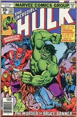 Incredible Hulk #227 - FN+