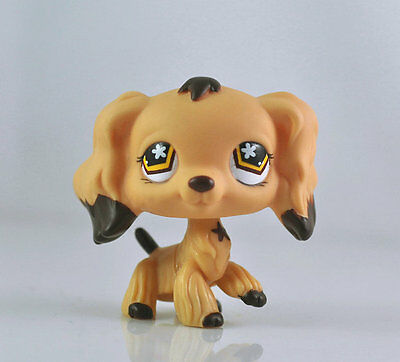 Littlest PET Dog Spaniel Animal child girl boy figure loose cute LPS986