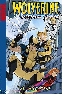 Wolverine and Power Pack The Wild Pack GN X-Men Marc Sumerak Gurihiru OOP New NM