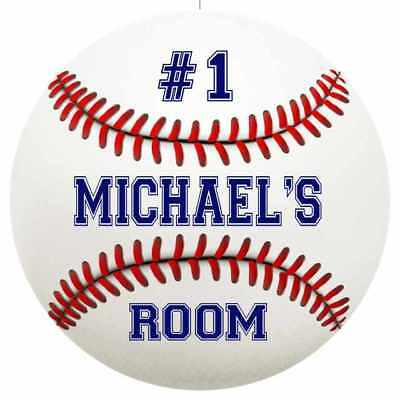 MICHAEL'S Bedroom Round Metal Sign Boys Room Wall Décor Gift R1402626