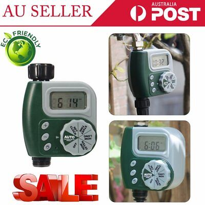 Electronic Water Tap Timer DIY Garden Irrigation Control Unit Digital LCD&