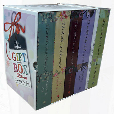 Cazalet Chronicles Elizabeth Jane 5 Books Collection With Journal Gift Wrapped
