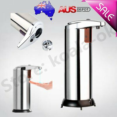 Stainless Steel Handsfree Automatic IR Sensor Touchless Soap Liquid Dispenser Q&