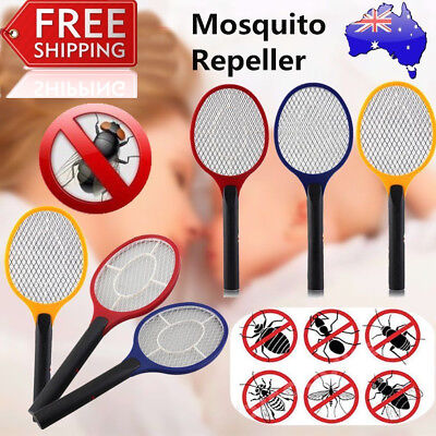 1X Electric Practical Insect Bug Fly Mosquito Zapper Swatter Killer Racket BX&@