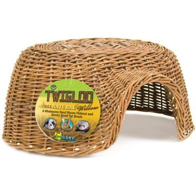 Ware Manufacturing All Natural Willow Twigloo Shape Small Animal Hideout Large