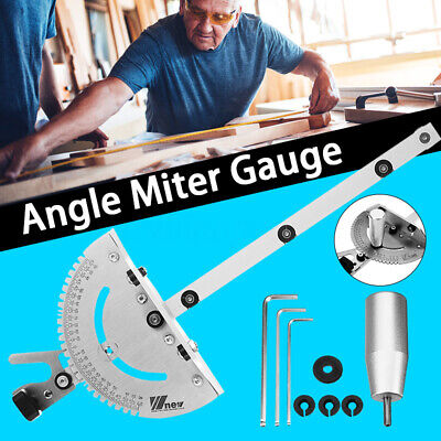 Miter Gauge 27 Angle Table Saw Router Miter Gauge Sawing Assembly Ruler Woodwork