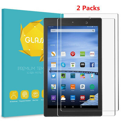 Tempered Glass Screen Protector Film For Amazon Fire HD 10 10.1'' 7th Gen 2017
