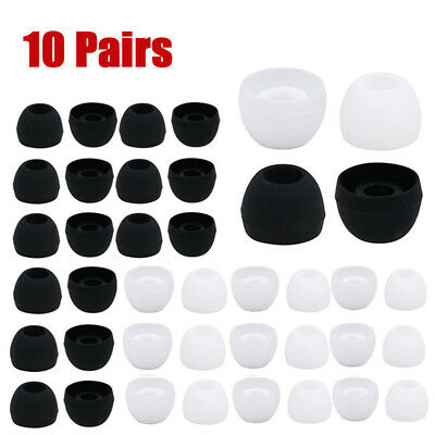 10 Pairs Replacement Eargels Buds for Samsung Galaxy S8/s8 Headphone Earbud
