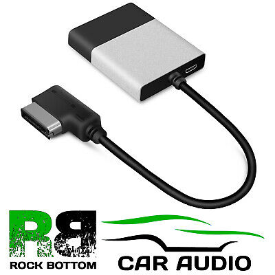 Audi Q3 Q5  Q7 AMI A2DP Wireless Music Streaming Android iPhone/iPod Interface