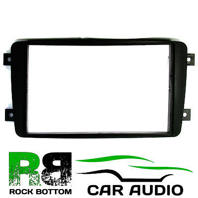 Mercedes Benz A Class 1997 On Double Din Car Stereo Radio Fascia Panel AFC5708