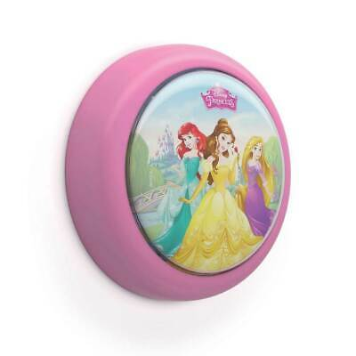 Philips Disney Princess Battery Powered LED Push Touch Night Light Nightlight